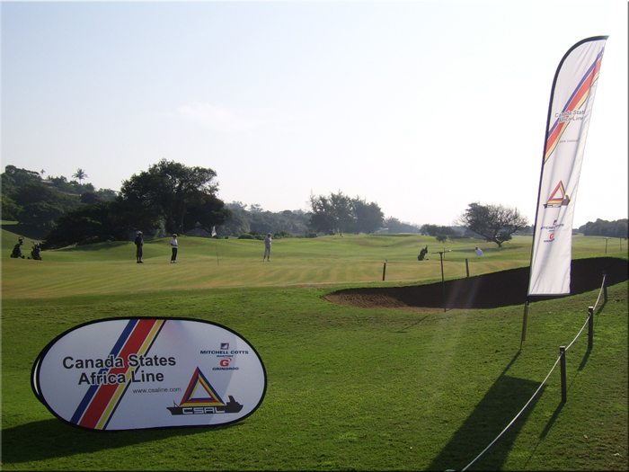 Golf Day in Beachwood Country Club in Durban